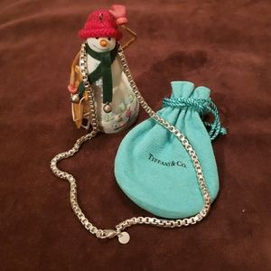 Tiffany & Co Venetian Chain Link Necklace.